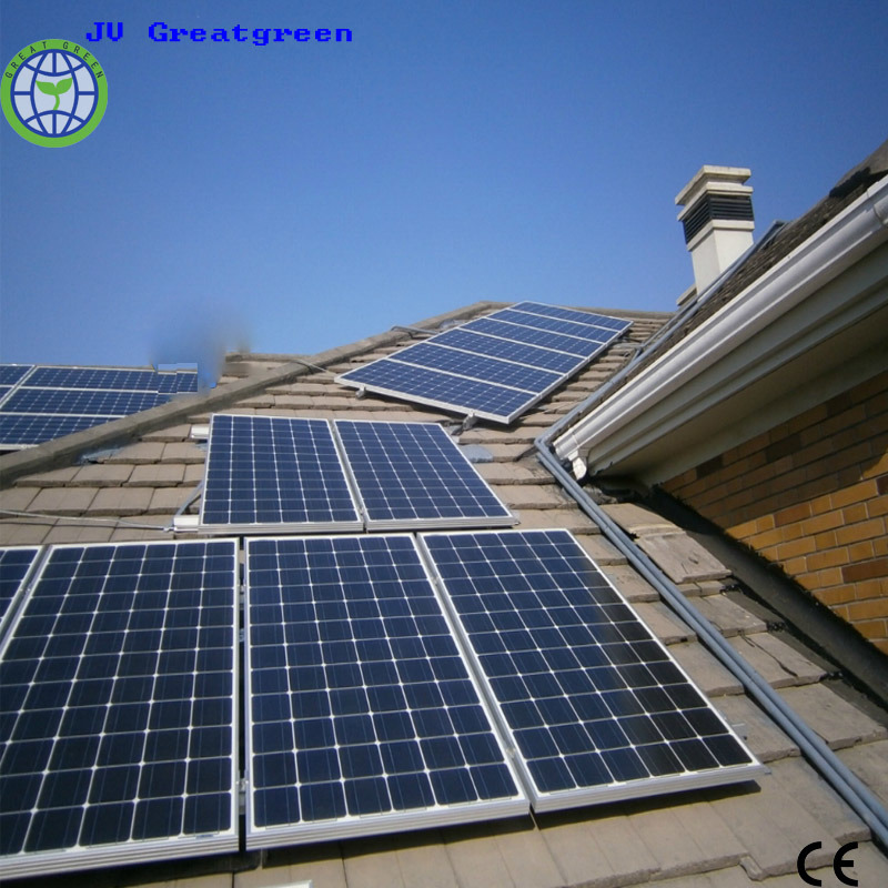 Family Use on-Grid Solar System