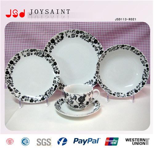 Wholesale Ceramic Plate Cheap Bulk Flat White Porcelain Dinner Plates