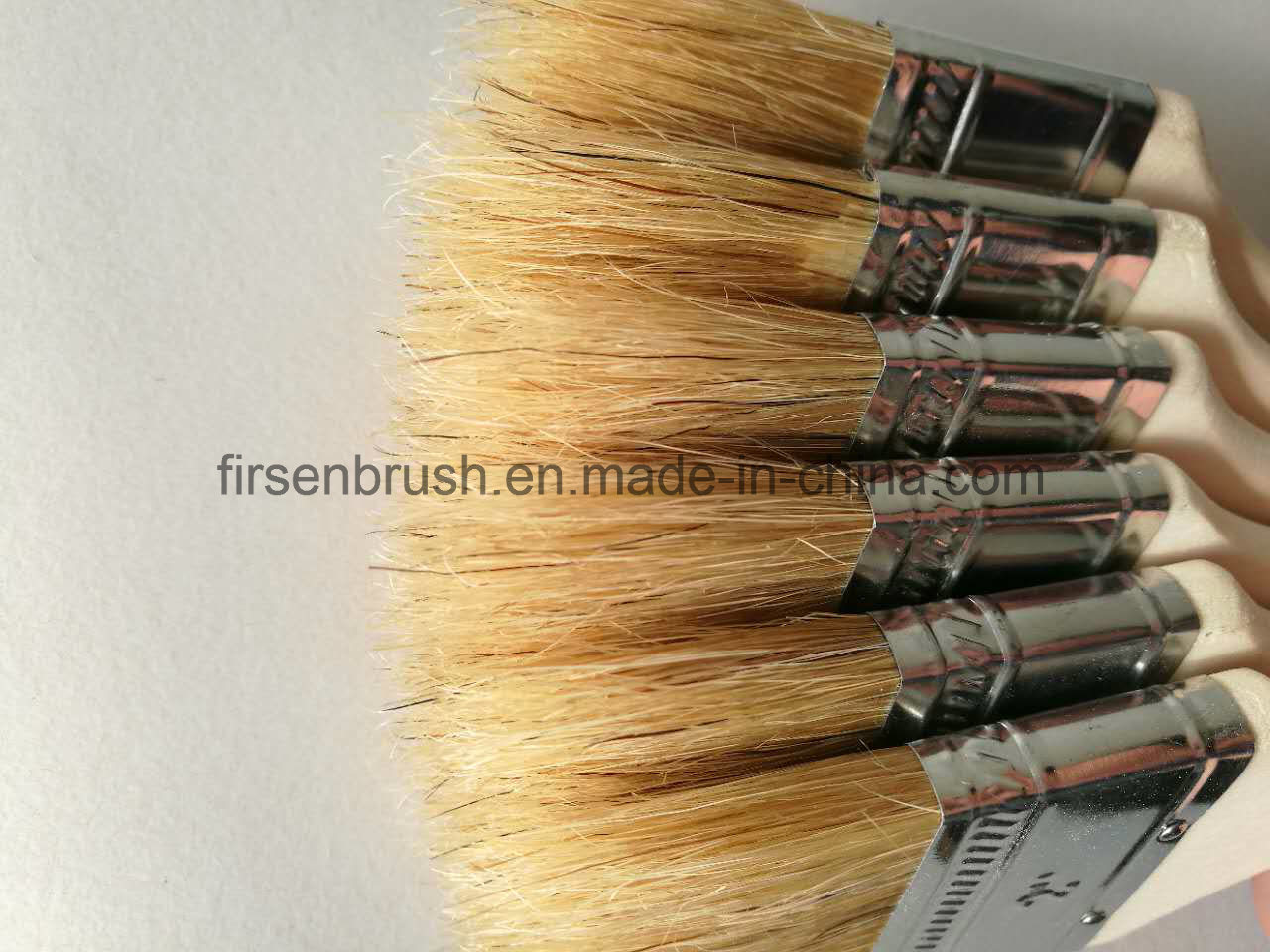 Hot Selling Hog Hair Chip Brush Sets with Low Price
