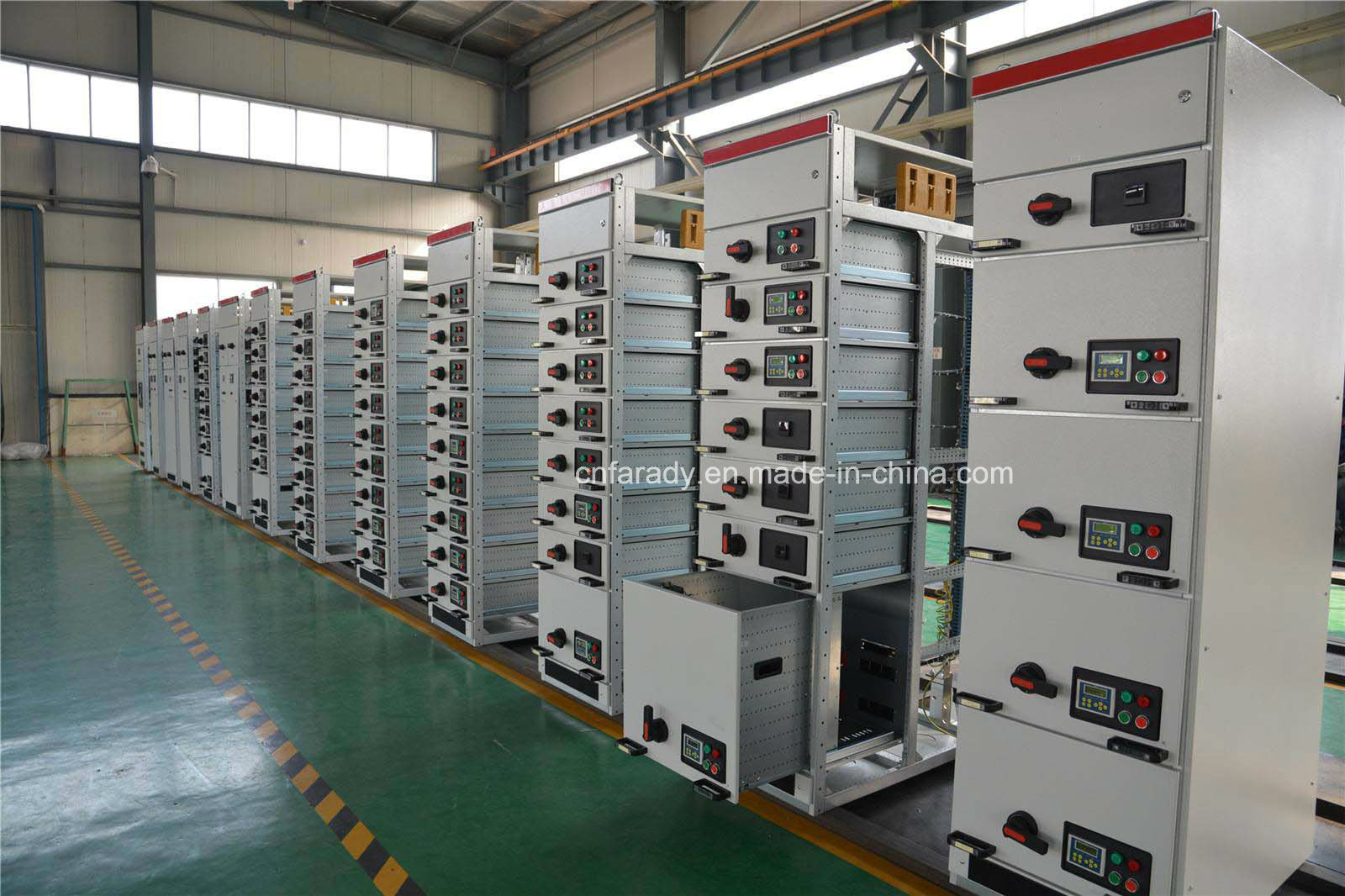 Gck Series Metal Low Power Distribution Box/Voltage Switch Cabinet