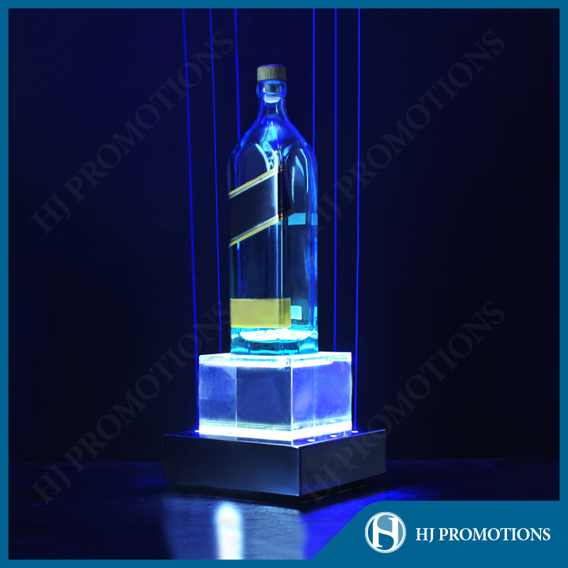 Customized LED Liquor Bottle Display Base (HJ-DWL06)