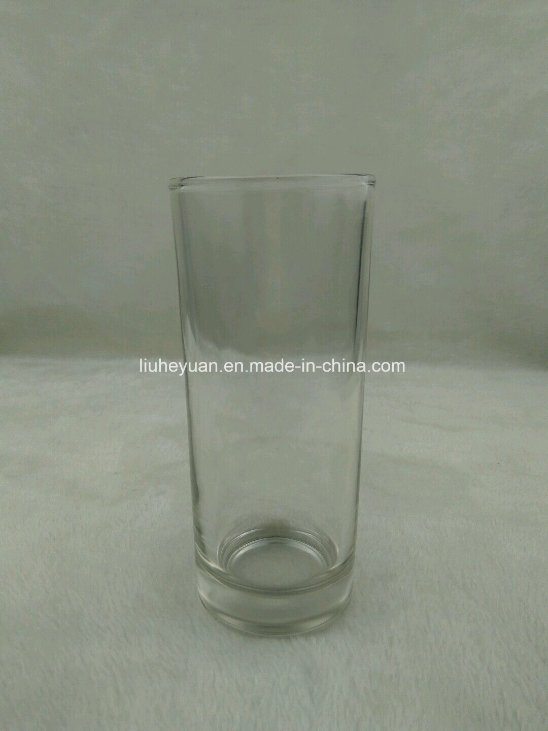 Cylindrical Glass Candle Holder, Candle Cup
