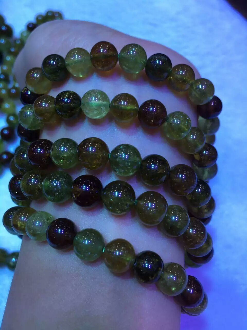 Fashion Gemstone Tsavorite Round Bead Jewelry