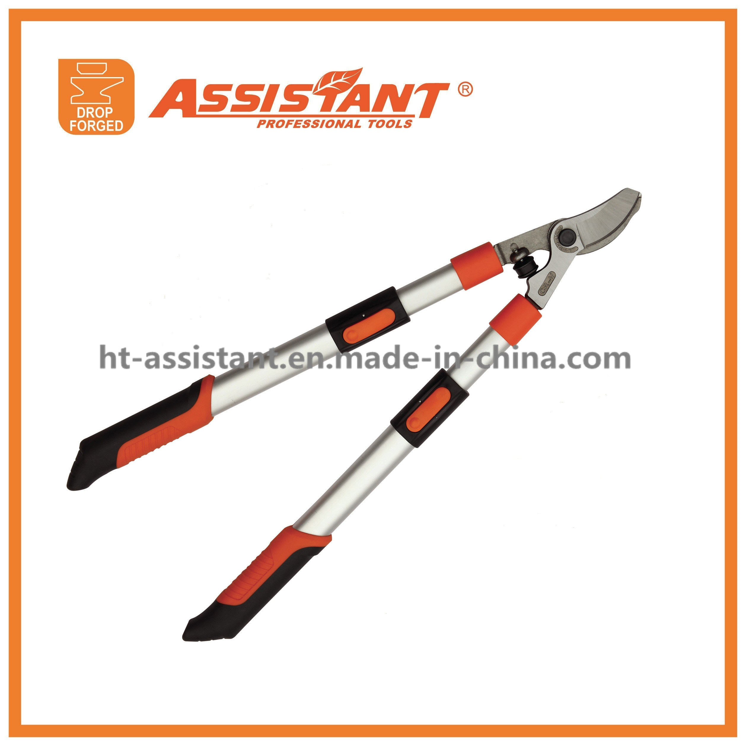 Vineyard Shears Forged Bypass Pruning Loppers with Extendable Aluminum Handles