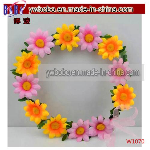 Christmas Gift Fashion Jewelry Headband with Rose Flower (W1055)
