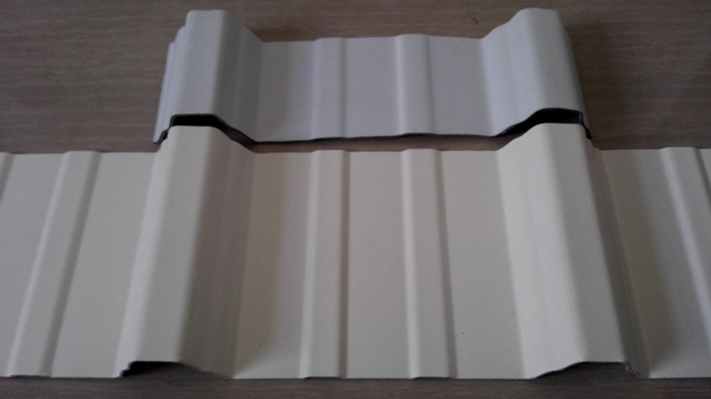10 Years Life Warranty PVC High Wave Roofing Sheet