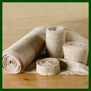 Natural Woven Jute Burlap Fabric Cloth Roll