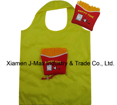 Foldable Shopping Bag, Food Chips Style, Reusable, Tote Bags, Promotion, Grocery Bags and Handy, Gifts, Lightweight, Accessories & Decoration