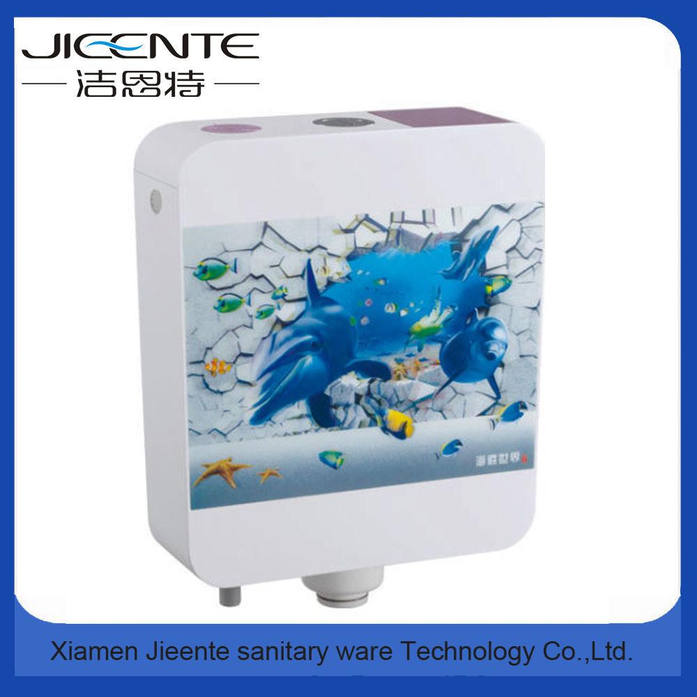 Jet-106b Bathroom Ware 3D Printed Sticker Plastic Toilet Water Cistern