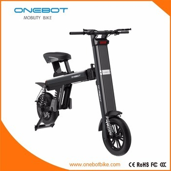 Folding Electric Bike/Lithium Battery Bicycle/12 Inch Ebike/Fat Tire Scooter