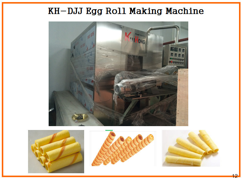 Kh Automatic Egg Roll Roller Machine