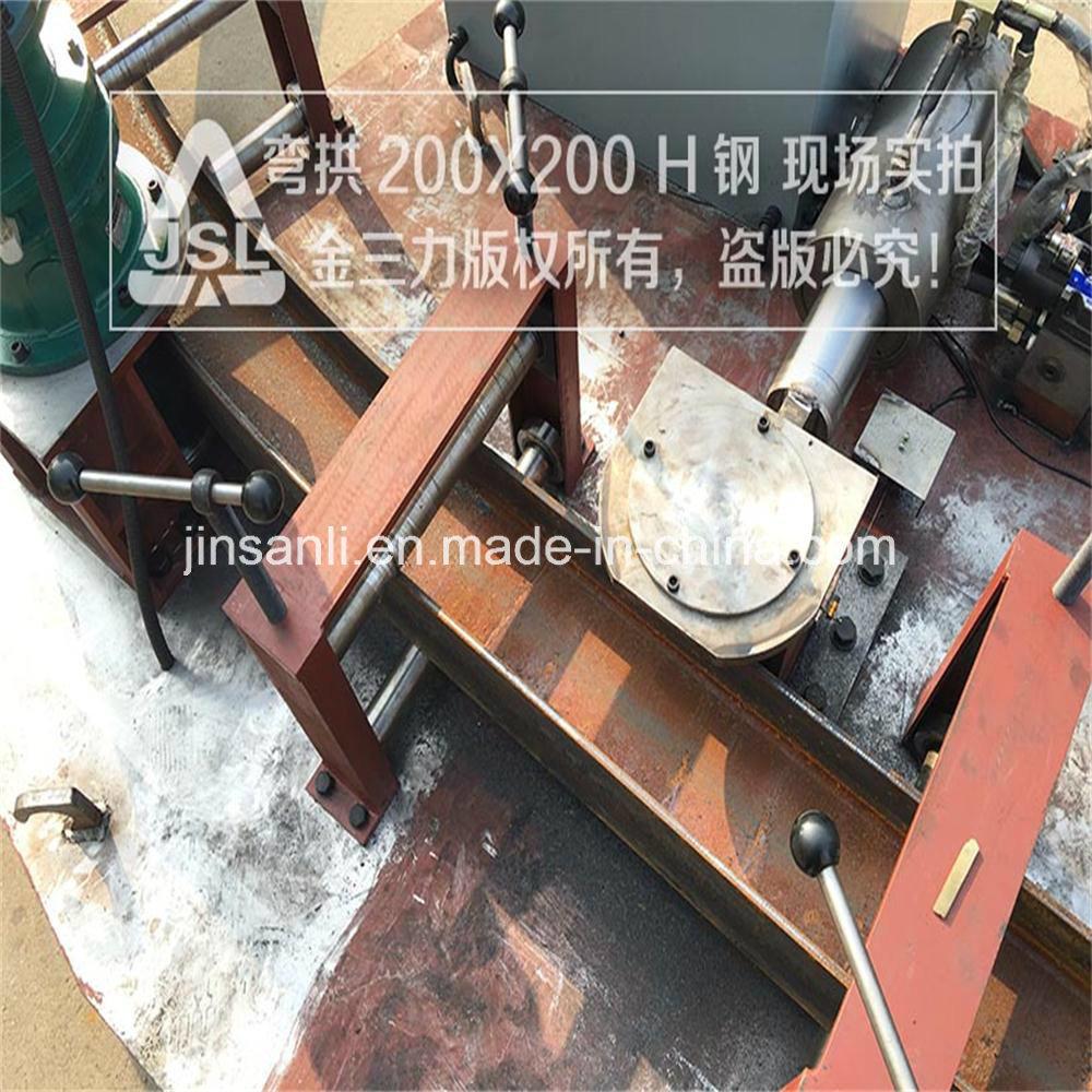 Jsl Section Steel Bending Equipment for Big Size H/I Beam