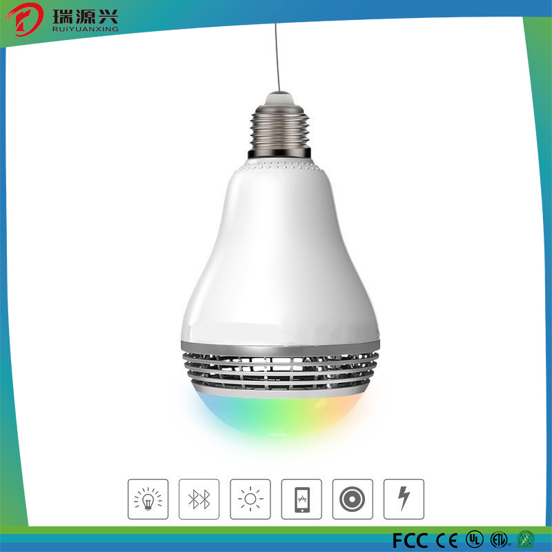 New Smart LED Lamp with Bluetooth Speaker