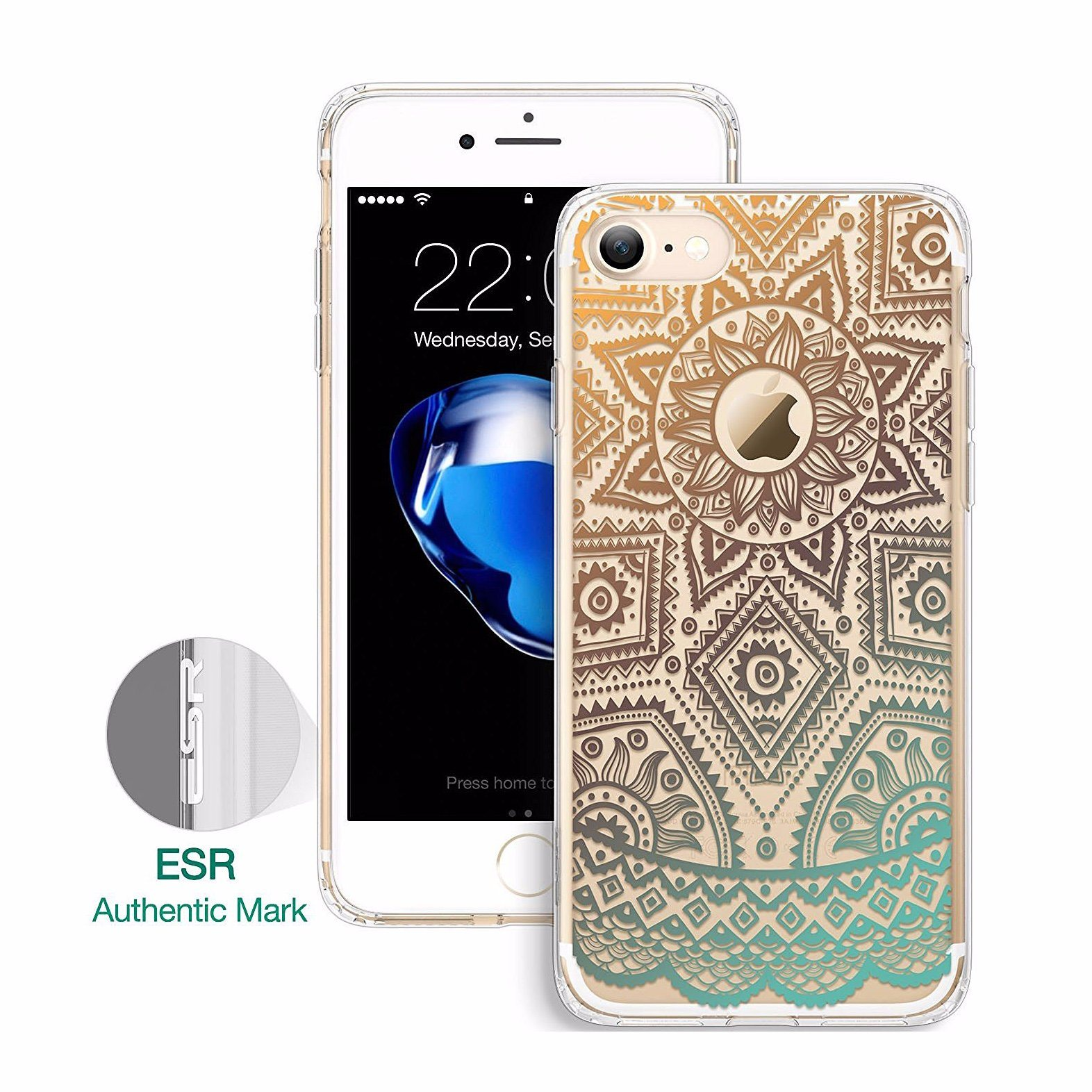iPhone 7&7 Plus Tarot Printings Protection Hard Plastic Case Cover