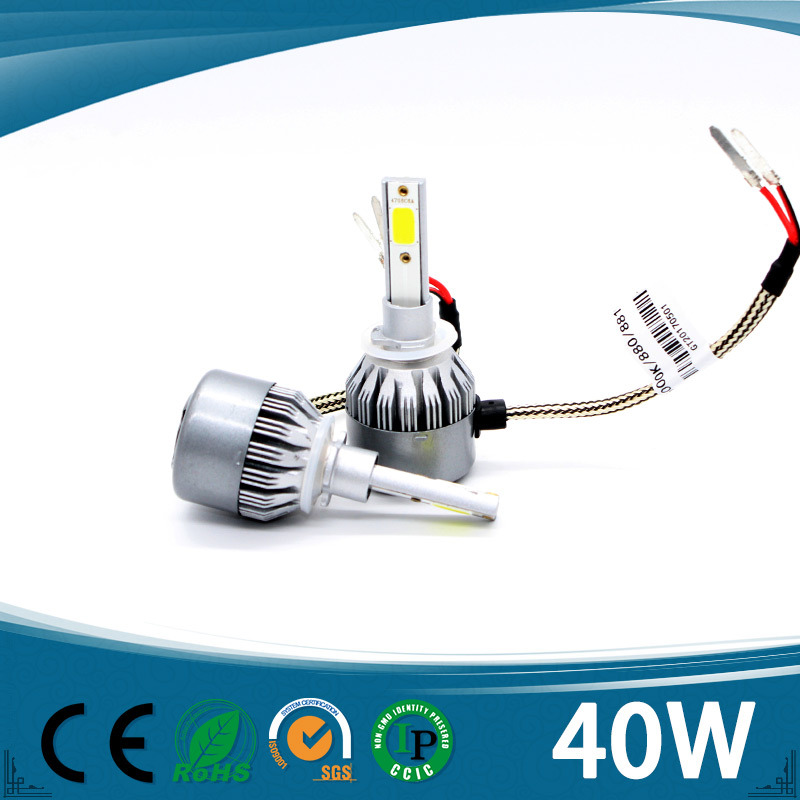Design Auto Headlight with Fan Car LED Headlight H13
