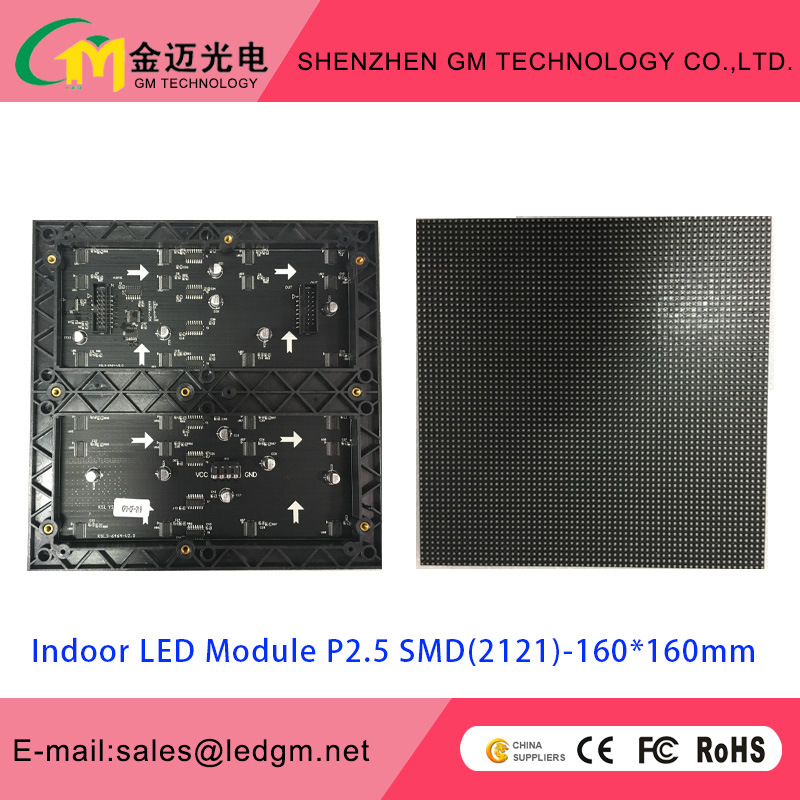 Wholesale Price P2.5 Indoor LED Module, 160*160mm, USD27.8