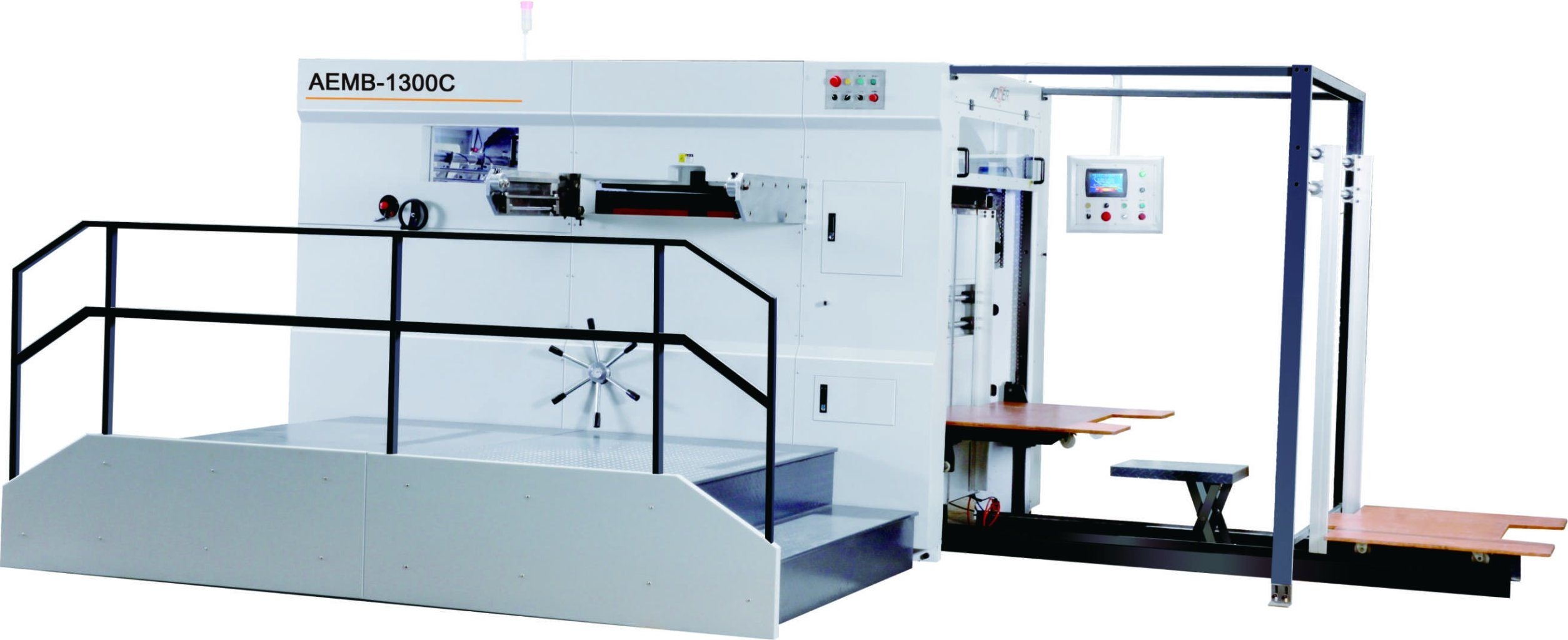 AEM-1300y Semi-Automatic Die Cutting Machine