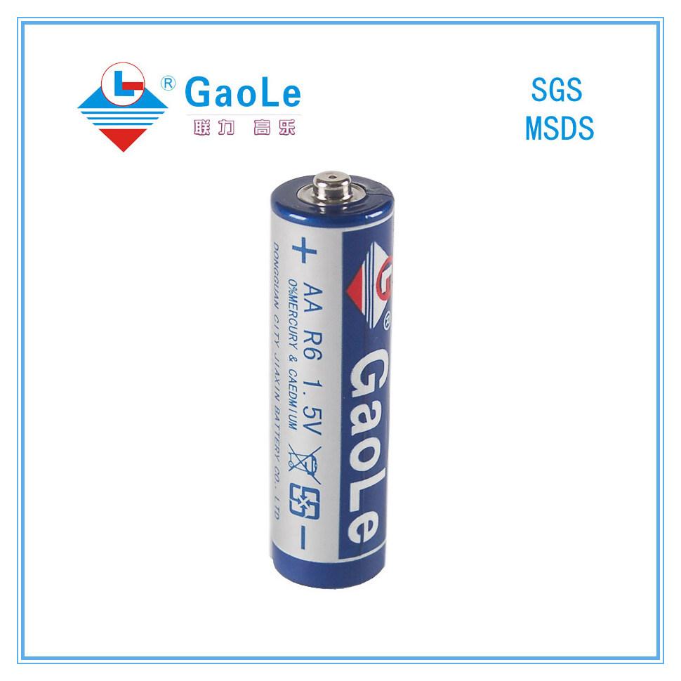 Mercury Free 1.5V Super Heavy Battery (R6 AA, Um-3)