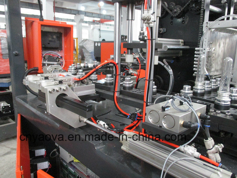 Hand Feed Preform Pet Stretch Blow Molding Machine Yv-5000h