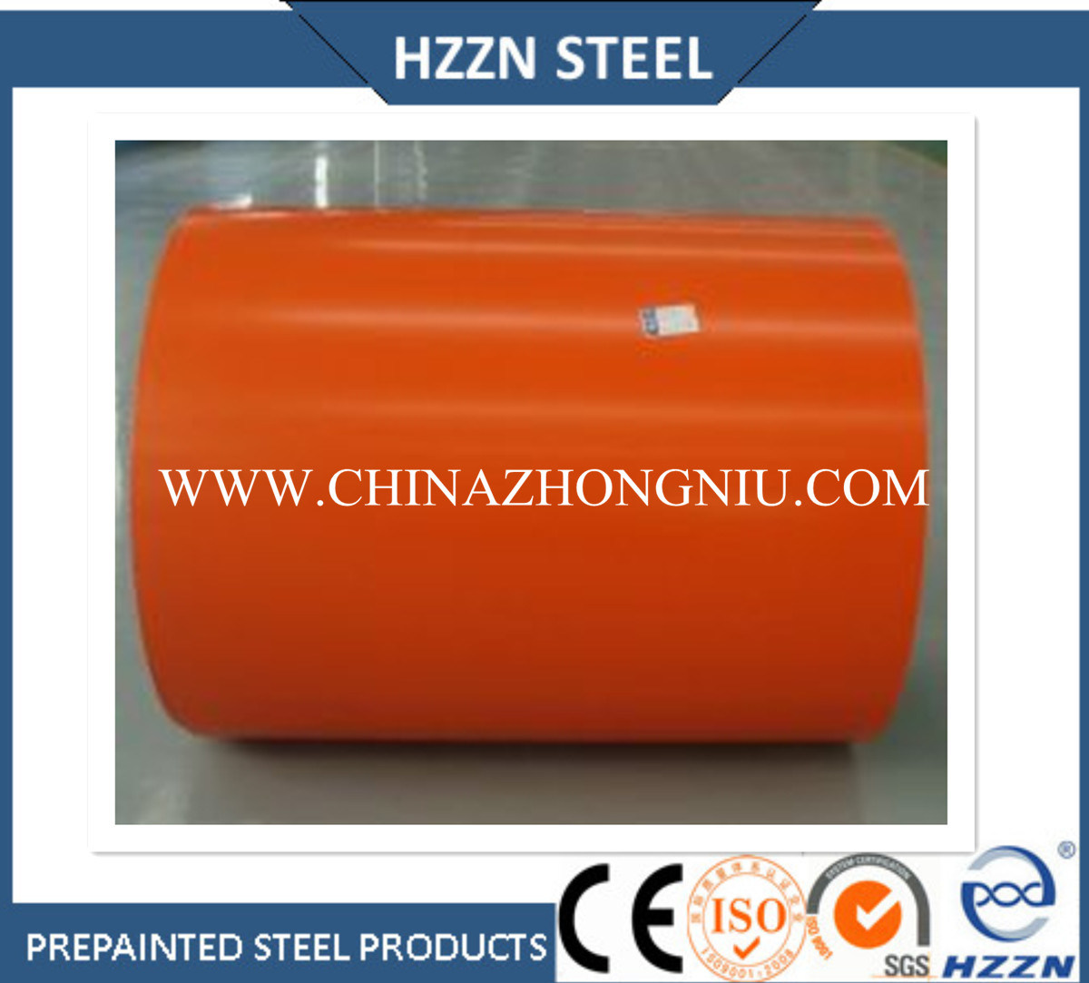 Building Material PPGI Steel Coil in All Ral Colors