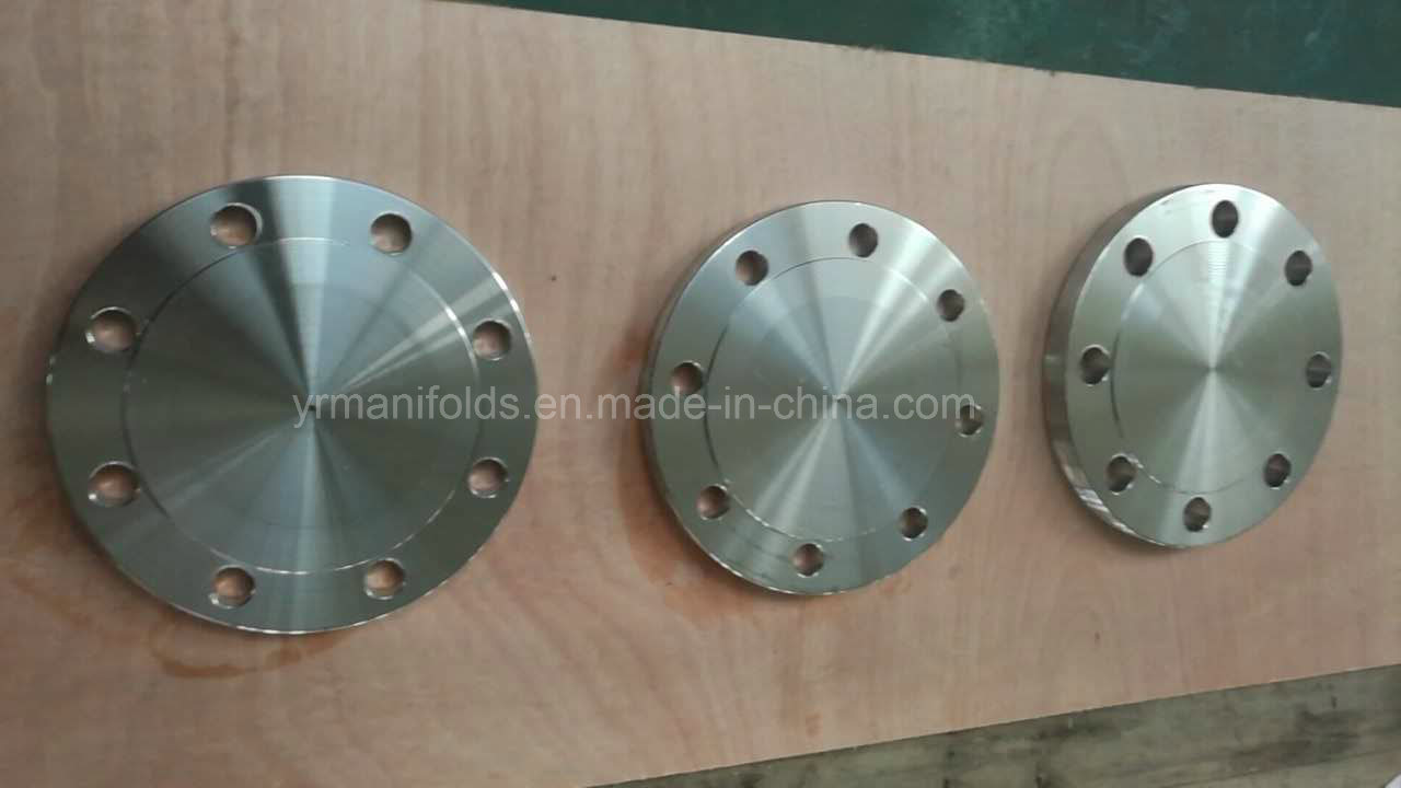 Manifolds, Forged Blind Flange, Stainless Steel, Carbon Steel