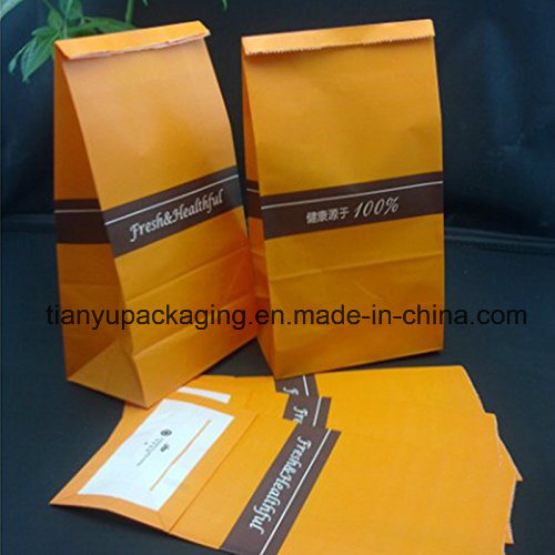 Perfect Brown Durable Paper Lunch Bag Food Snack Storage Paper Bag