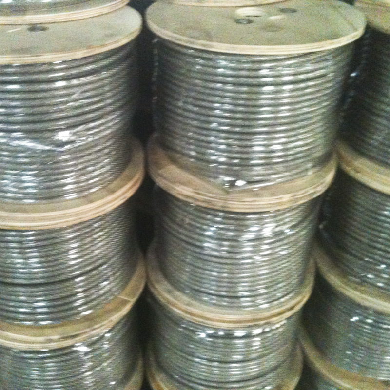 China 4.0mm 7X19 Stainless Steel Wire Rope and Cable Photos ...