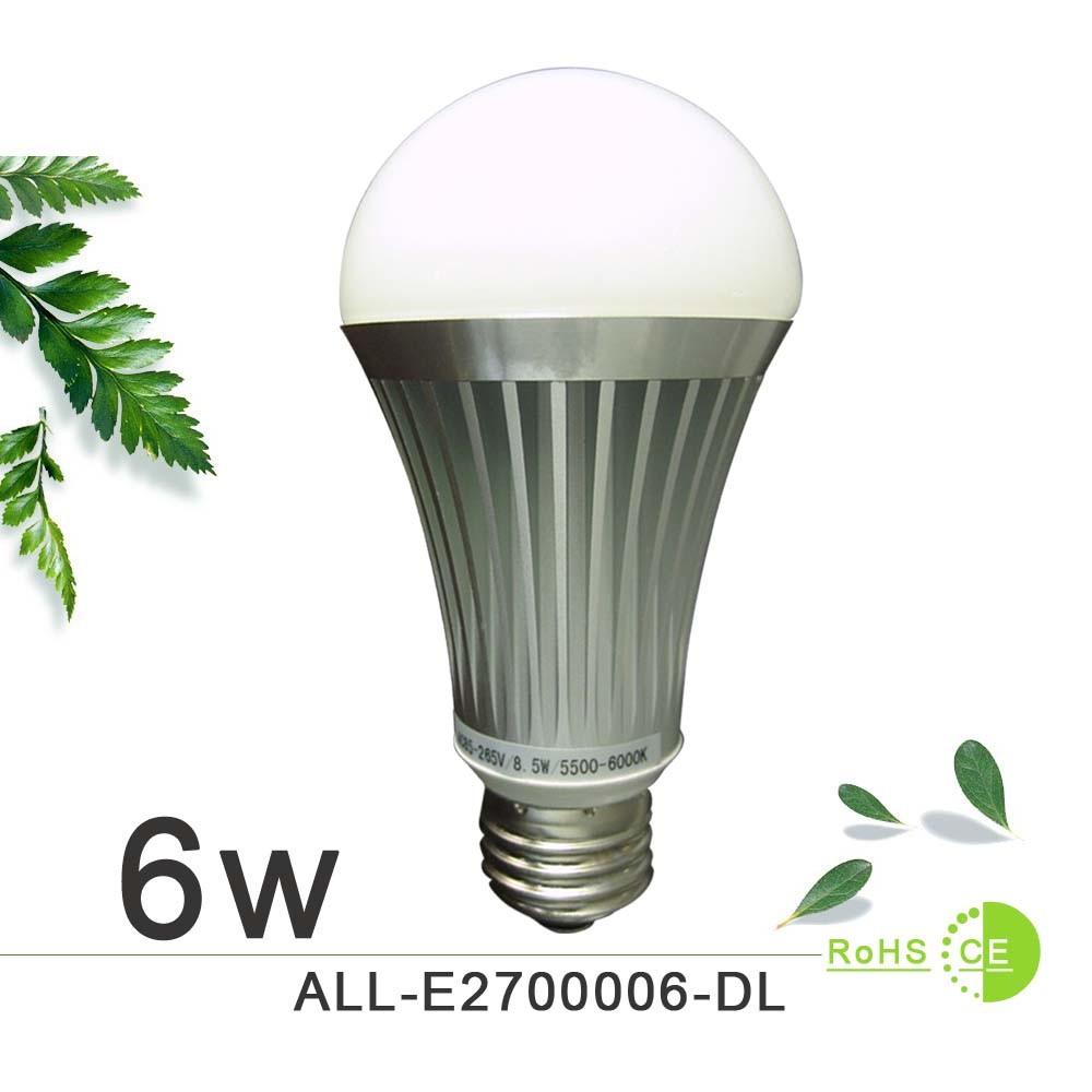 6w e27 led globe bulb light china e27 led bulb 6w led bulb light. Black Bedroom Furniture Sets. Home Design Ideas