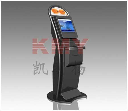 Free Standing Touchscreen Internet Kiosk for Mall