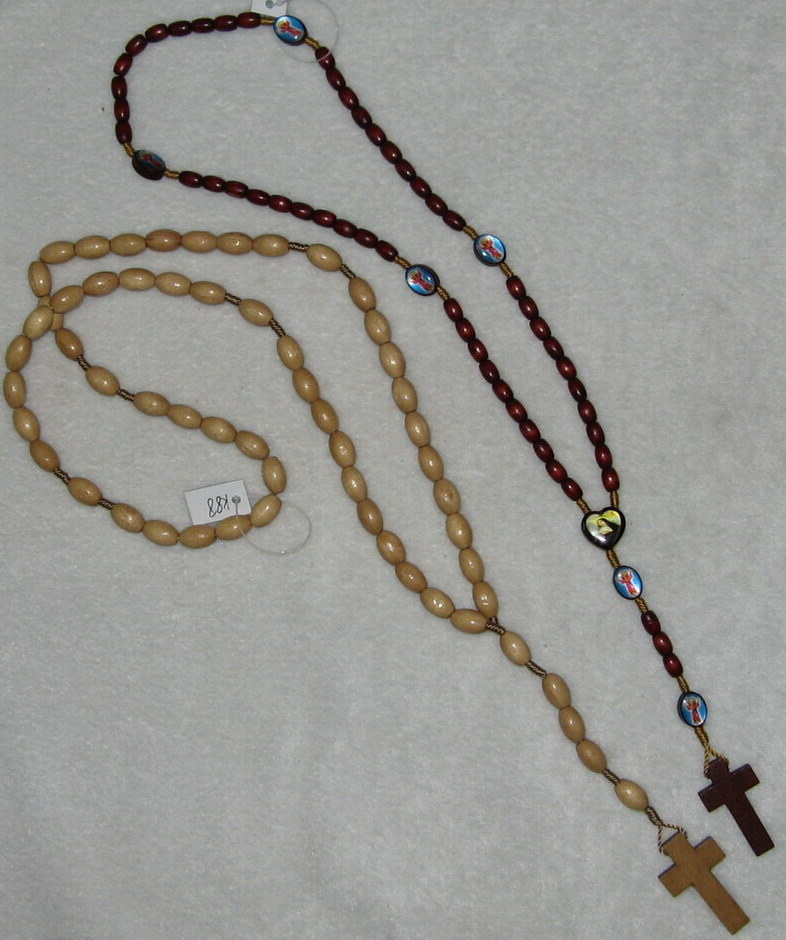 china wooden necklace rosaries necklace k87 88 china wooden cross jewelry fashion