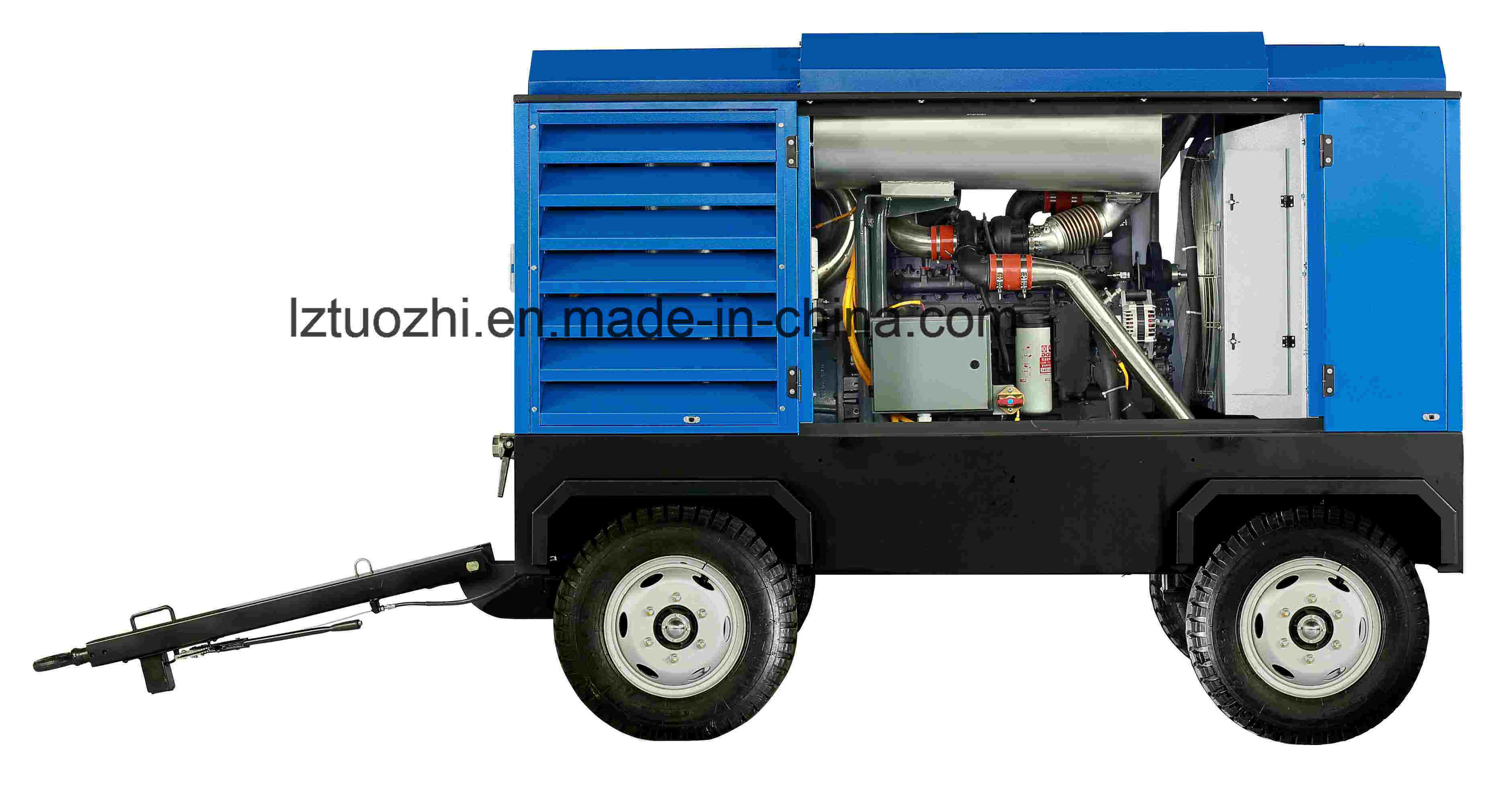 Atlas Copco-Liutech 748cfm 10bar Rotary Portable Diesel Air Compressor