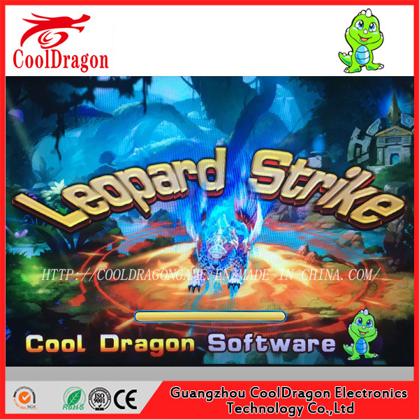 USA Hot Sale Arcade Leopard Strike Fishing Game Machine, Same Algorithm with Tiger Strike
