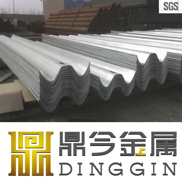 Q235 Galvanized Metal Beam Crash Barrier