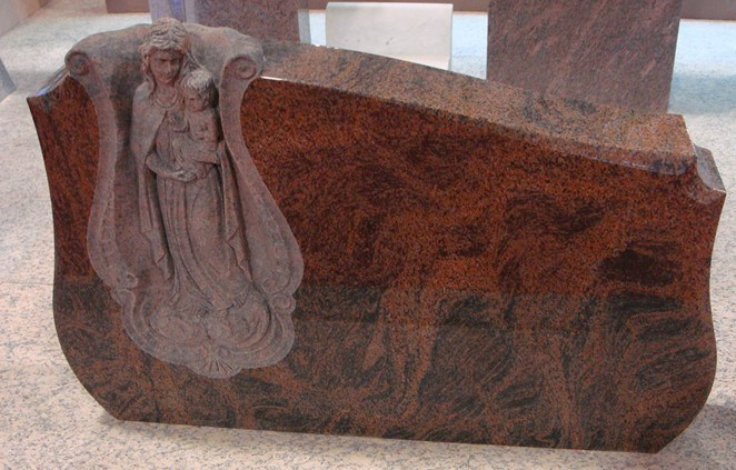 Red Granite Headstones : China red granite headstone wf