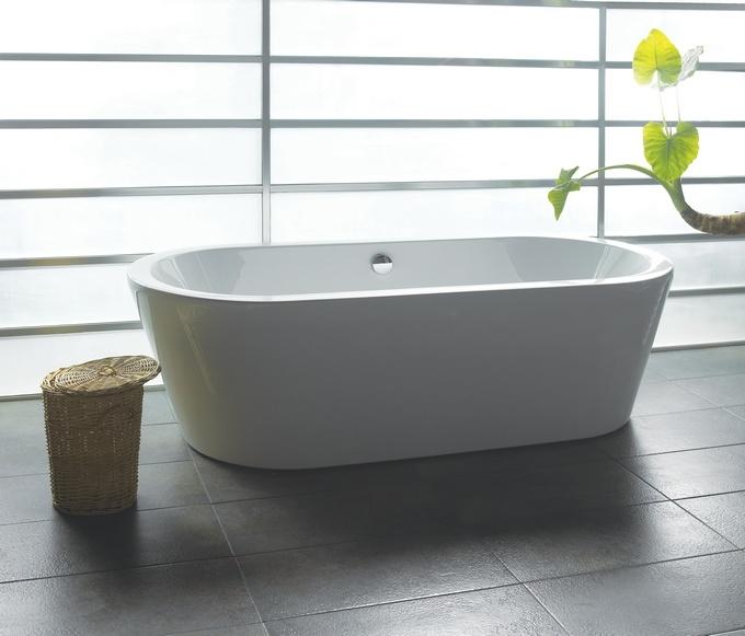 China Freestanding Acrylic Soaking Bathtub B 05 China Freestanding Bathtu