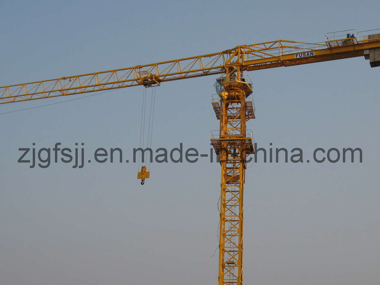 Tower Crane Productivity : Tower crane fsp china construction machinery