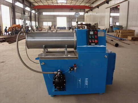 50L/60L Paint Horizontal Enclosed Pearl Mill