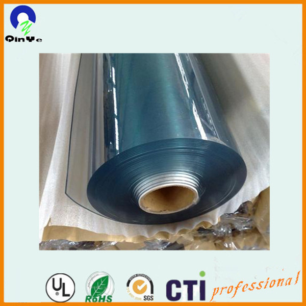 Plastic 0.15mm-0.2mm Normal Clear Flexible PVC Film for Packing Bag