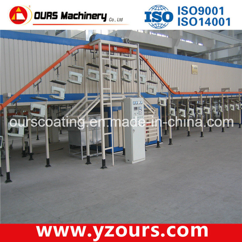 Double System Electrostatic Powder Coating Machine