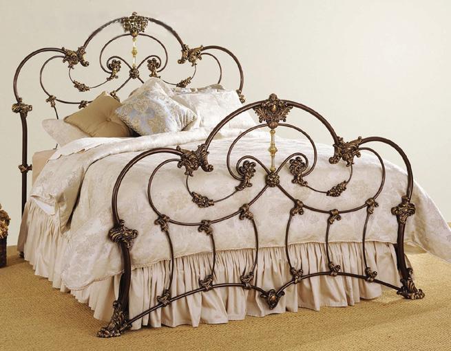 China Wrought Iron Bed Lb I B 0009 China Bed Iron Bed
