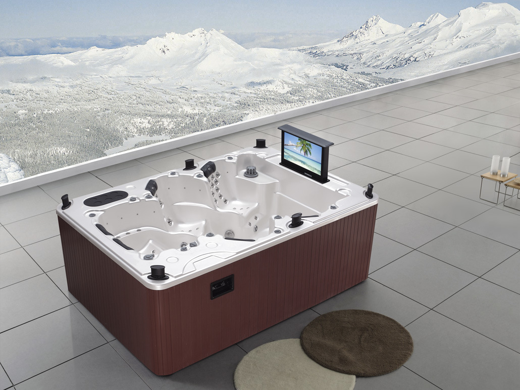 China spa hot tub m3333 china spa swim spa - Spa o hot tub ...