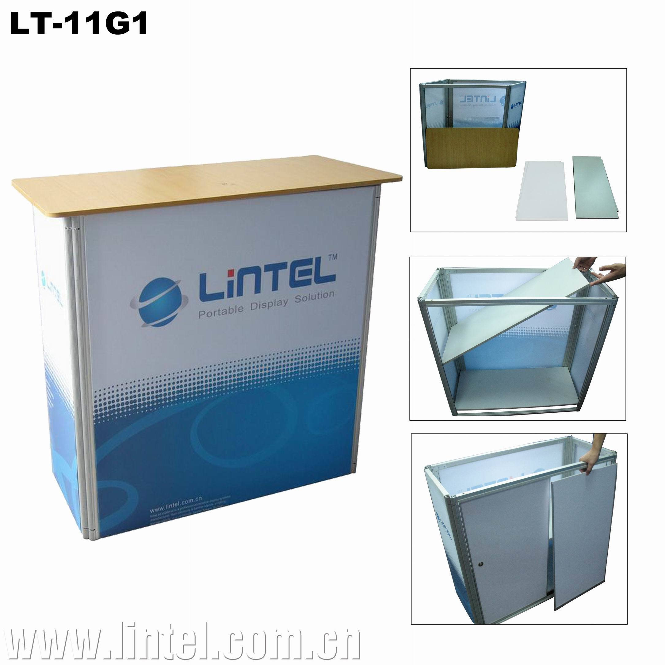 Exhibition Stand Table : China exhibition stand promotion reception tiered display