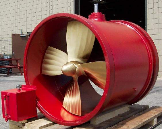 Fixed/Controllable Pitch Marine Bow Thruster / Tunnel Thruster