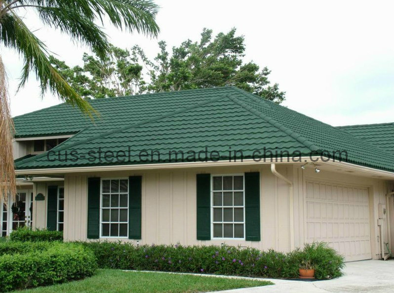 Stone-Coated Metal Roof/Colorful Stone Metal Roof Tiles