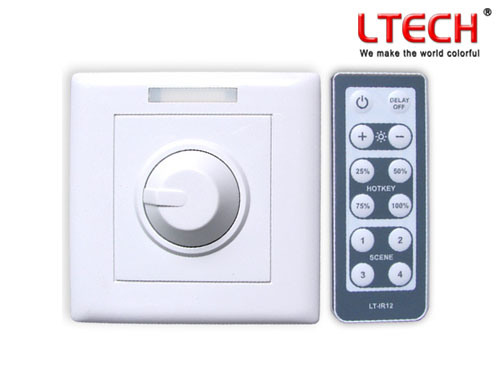 intelligent led wall switch dimmer lt 3200 350 china led dimmer ir remot. Black Bedroom Furniture Sets. Home Design Ideas
