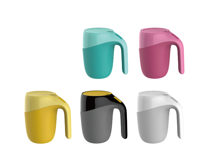 New Concept Vacuum Suction Mug Spill Free Mug