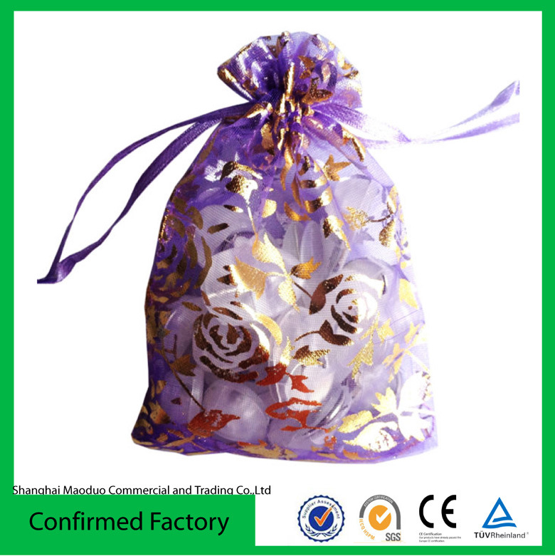 Personalized Organza Drawstring Gift Bag (MD-AD-4001)