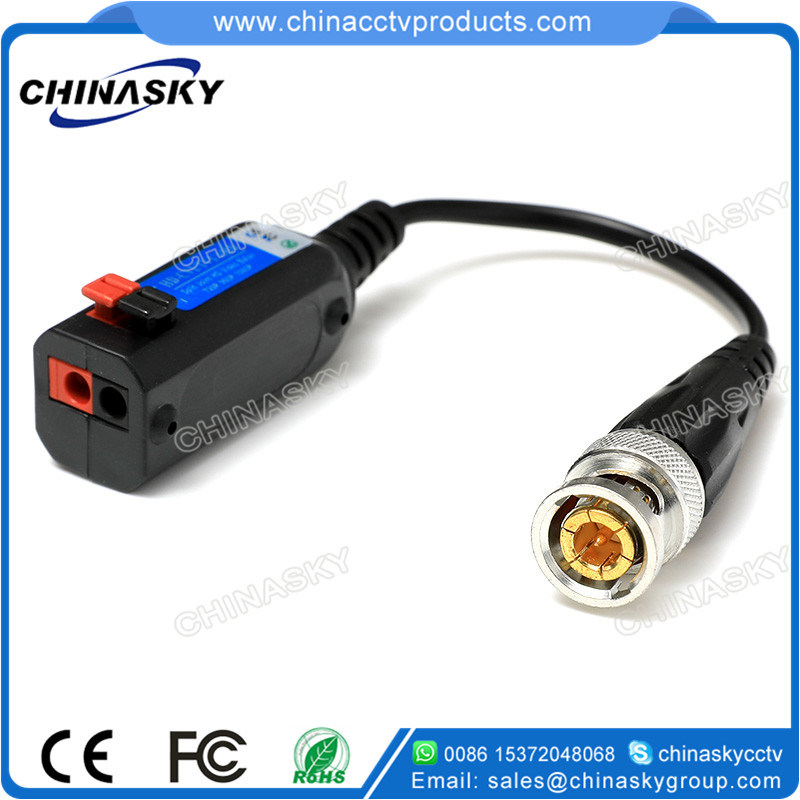 "New ""Press-Fit"" Terminal Block Connectable Passive CCTV UTP HD Video Balun (VB107pH)"
