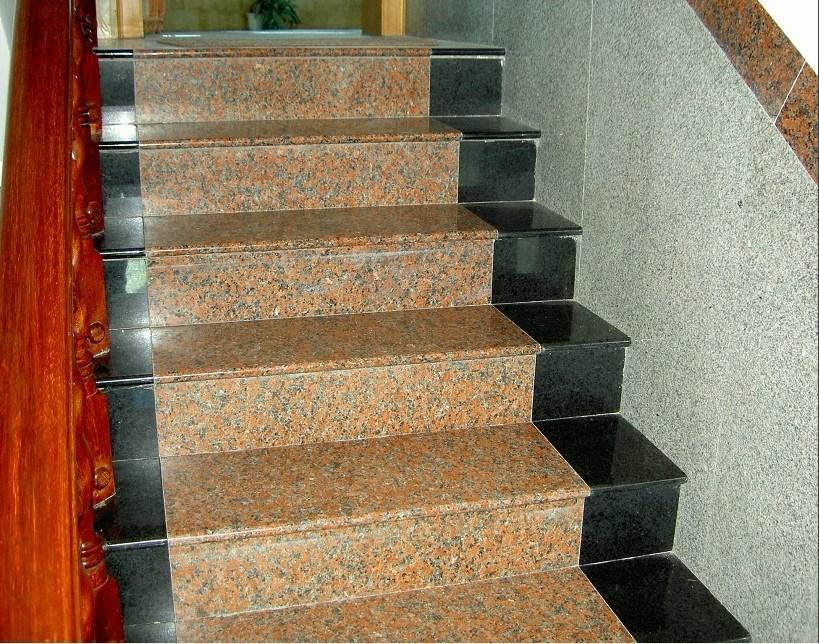 Escaleras y pisos marmoles y granitos la nueva industria for Escaleras de marmol y granito