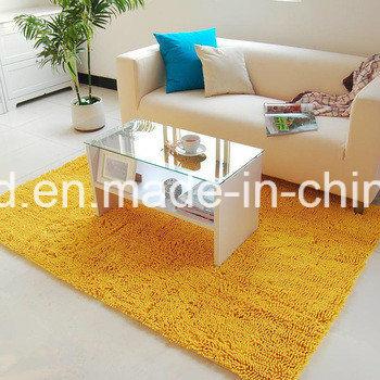 Shiny Chenille Tufted Carpet for Kitchen Living Room Bathroom